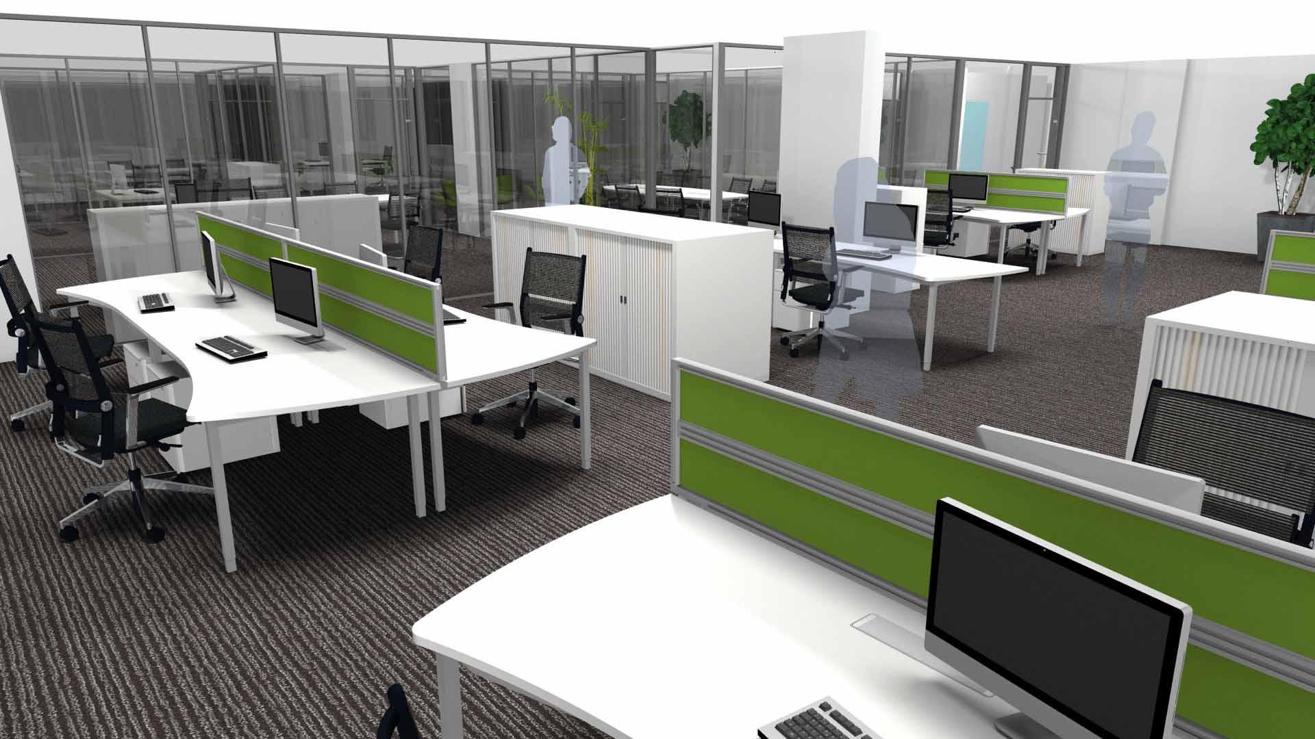 Exemple d'aménagement d'un espace de travail !