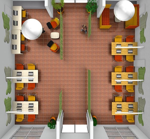 Plan d'aménagement par Concept Bureau