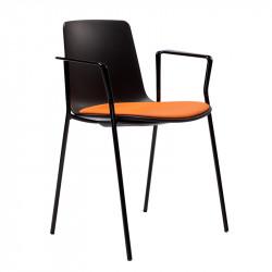 Placet d'assise pour la chaise avec tablette  écritoire YASMA
