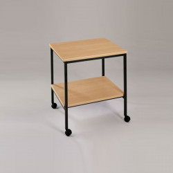 Petite table d'appoint mobile