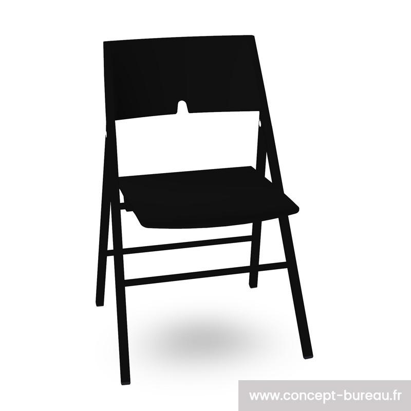 Chaise pliante empilable design AXA