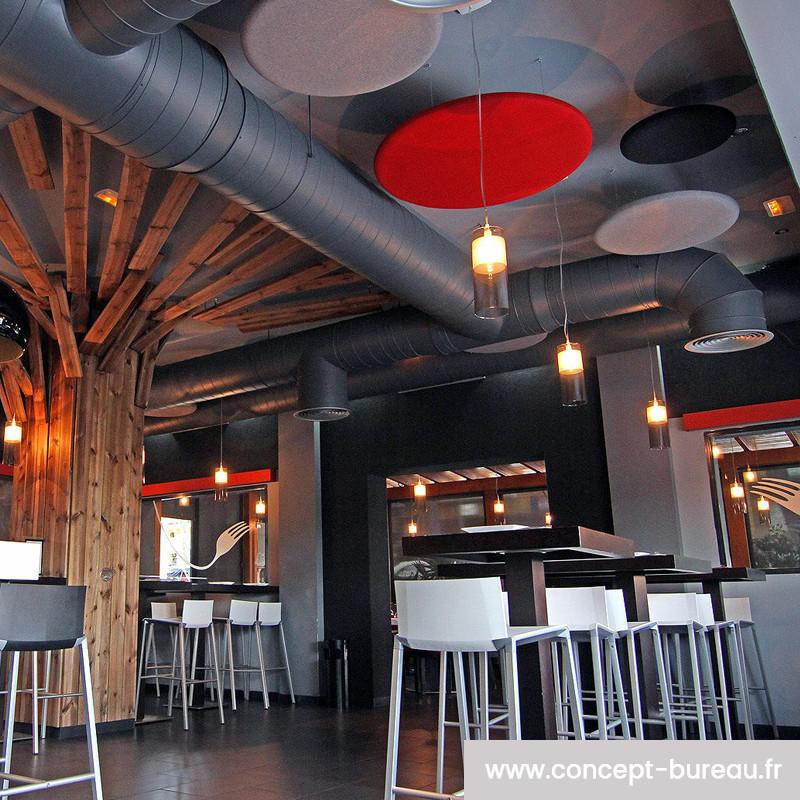 Panneau acoustique de plafond ISOWORK