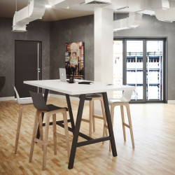 table haute industrielle pas cher