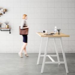 table mange debout style industriel