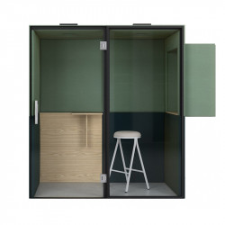 Cabine acoustique de bureau pour open spaces et coworking