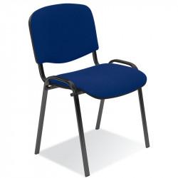 Chaise en tissu empilable