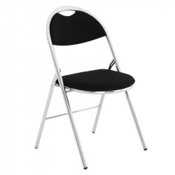 Chaise pliante version chromé MEMPHIS