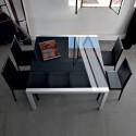 Table de réunion en verre SUSHI