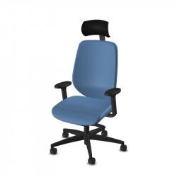 Fauteuil de bureau ergonomique avec accoudoirs réglables - G353