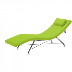 Chaise longue pour espace de détente