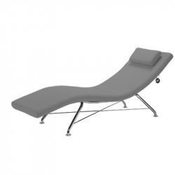 Chaise longue de repos avec coussin