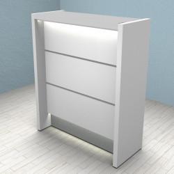 Petit comptoir d'accueil design