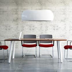 Table de réunion forme tonneau - CHAPIER