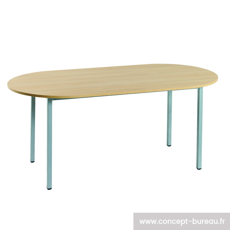 Table de réunion modulable oblongue CHEDEAU