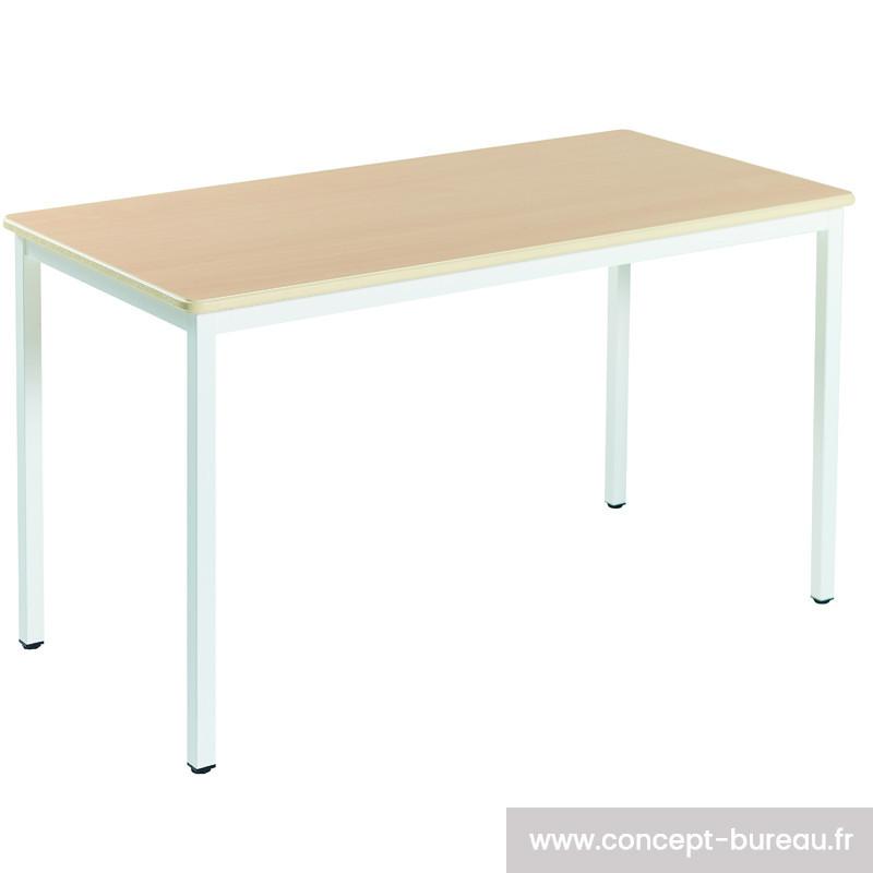 Table de réunion modulaire rectangulaire CHEDEAU