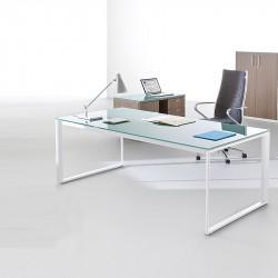 Bureau design en verre ALESMA