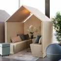 Cabine acoustique pour open space design