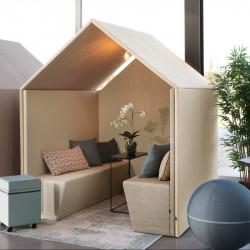 Cabine acoustique pour open space design
