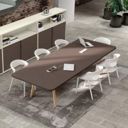 Table de réunion design 8 personnes