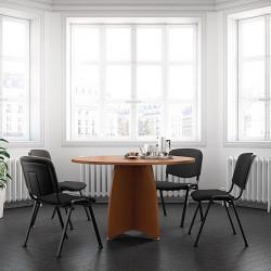 Petite table de réunion pour 4 personnes HOLZ