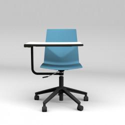 Chaise avec tablette écritoire pour ordinateur