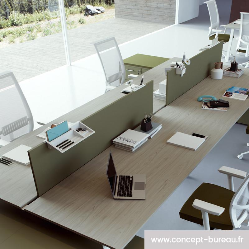 Cloisonette de séparation pour bureau bench DANJOUX