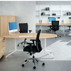 Bureau et table de réunion