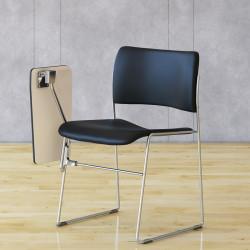 Chaise avec tablette écritoire 40/4