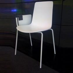 Chaise avec tablette écritoire  YASMA
