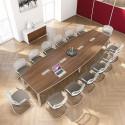 Grande table de réunion pour 14 personnes