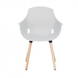 Chaise style scandinave pour espace d'accueil