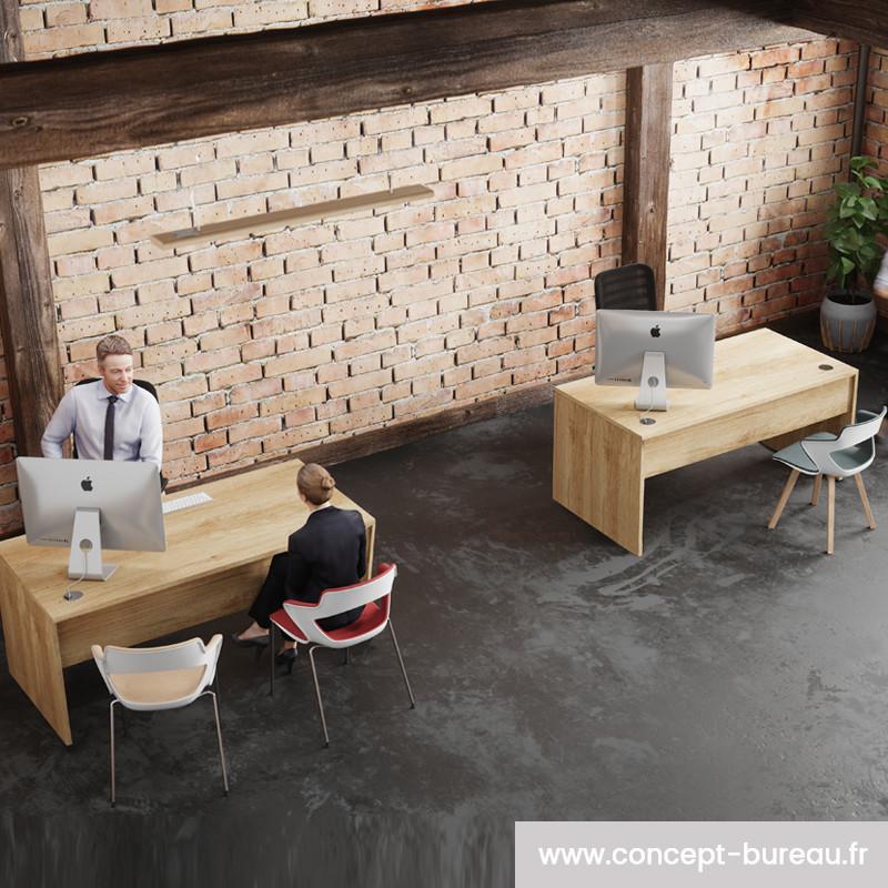 Bureau individuel design pas cher
