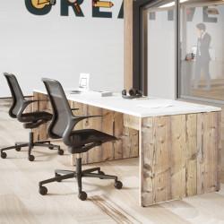Bureau individuel design pour open space