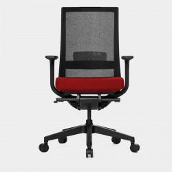 Fauteuil de bureau ergonomique accoudoirs 3D