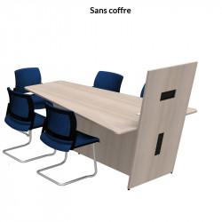 Table de réunion visioconférence