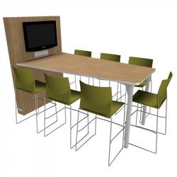 Table de conférence connectée