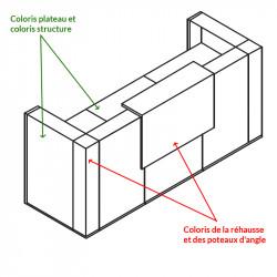 Comptoir d'Accueil Design - LAYER