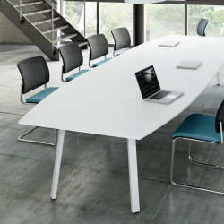 Table de réunion forme tonneau - CHAPIER