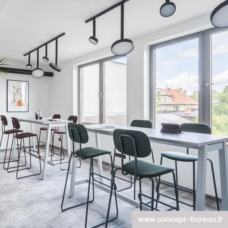 Table de réunion haute design