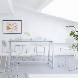 Table haute design