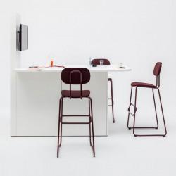 Tabouret haut design pour table haute