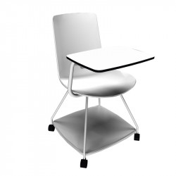 Chaise avec tablette écritoire intégrée - ISAKI