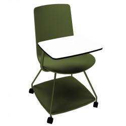 chaises avec tablettes