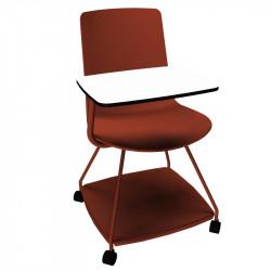 chaise avec tablette amovible