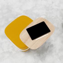 Pouf avec tablette écritoire design - TIP