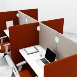 Bureau bench 4 personnes open space