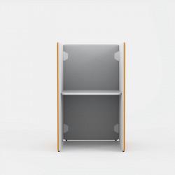 petit bureau avec cloisons acoustiques