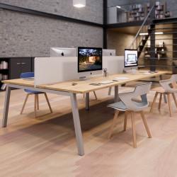 Bureau open space 4 personnes