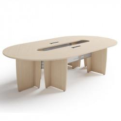 Table de réunion pour 8 à 12 personnes
