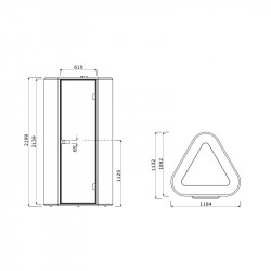 Phonebooth 1 personne - ÉCLA